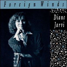 Diane Jarvi's Foreign WInds CD cover